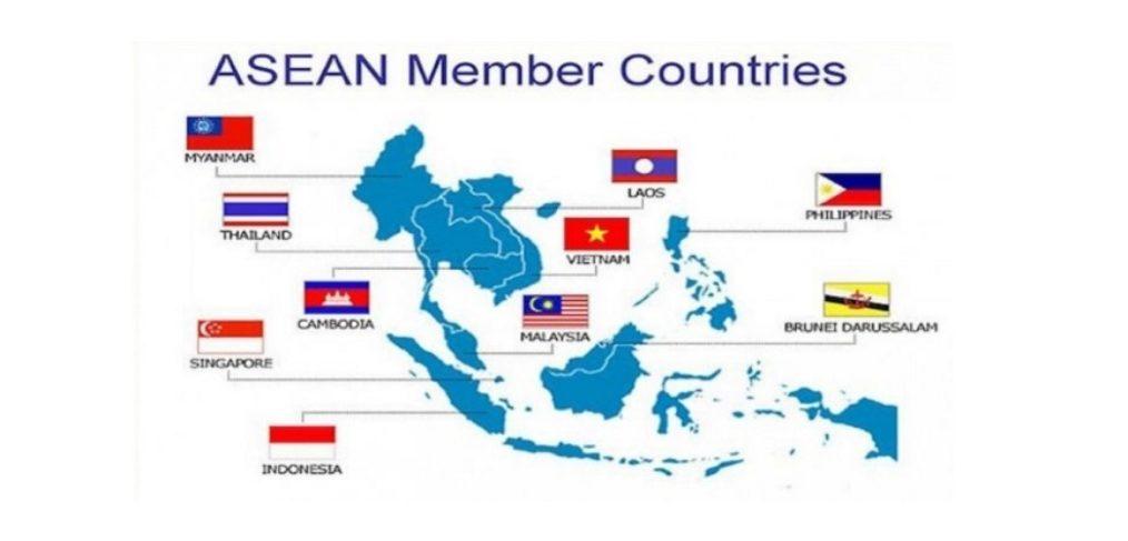 Map Asean
