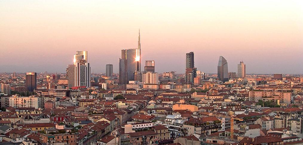 Panorama sui grattacieli di Porta Nuova