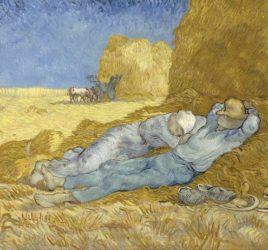 Vincent_van_Gogh_-_The_siesta_(after_Millet)_-_Google_Art_Project