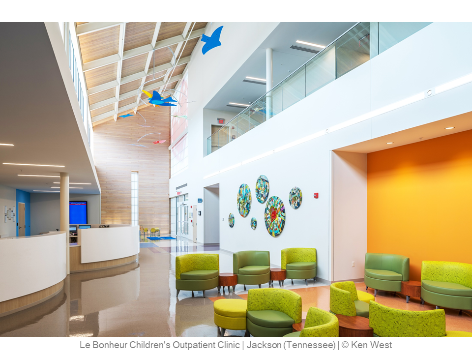 Le Bonheur Children's Outpatient Clinic – Jackson (Tennessee) – © Ken West