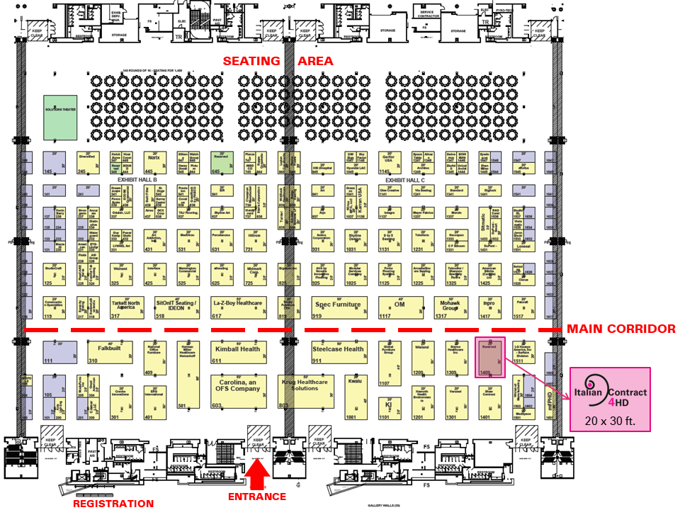floorplan HealthCare Design Expo 2020