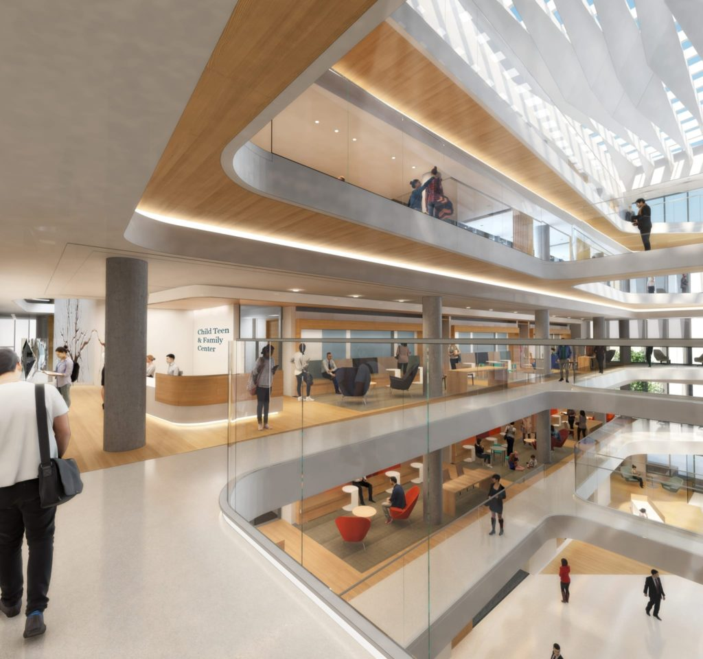 HEALTHCARE DESIGN University-of-California-San-Francisco-–-Child-Teen-Family-Center-and-Dept.-of-Psychiatry-Building-ZGF-Architects-San-Francisco-CA