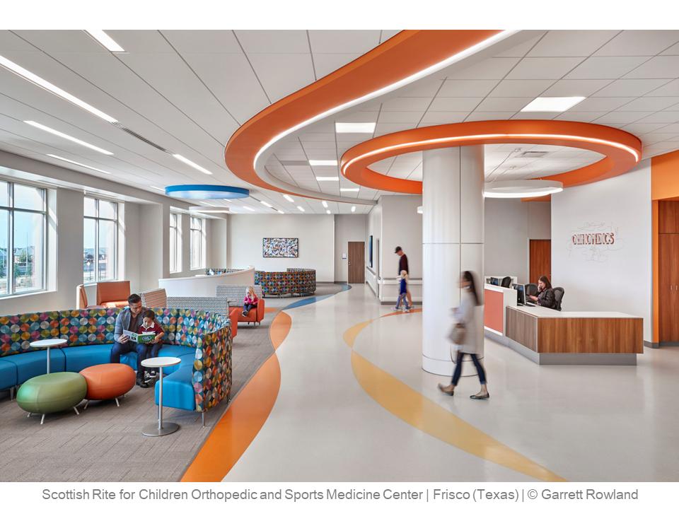 Scottish Rite for Children Orthopedic and Sports Medicine Center – Frisco (Texas) – © Garrett Rowland