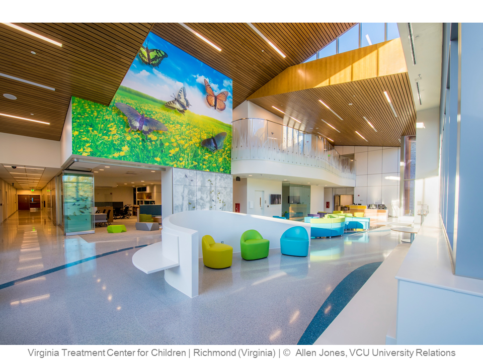Virginia Treatment Center for Children – Richmond (Virginia) – © Allen Jones, VCU University Relations