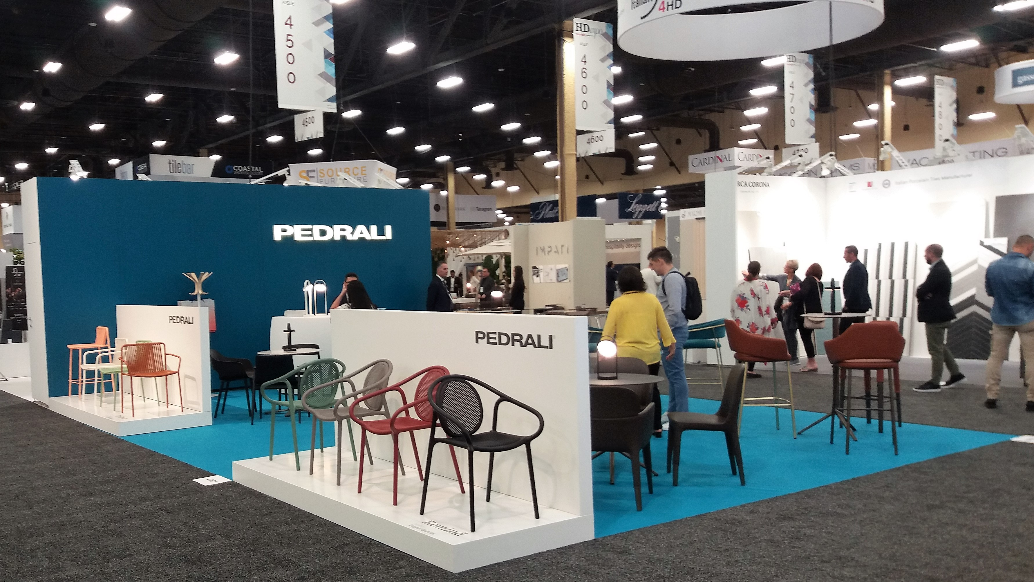 PEDRALI - Hospitality Design Expo
