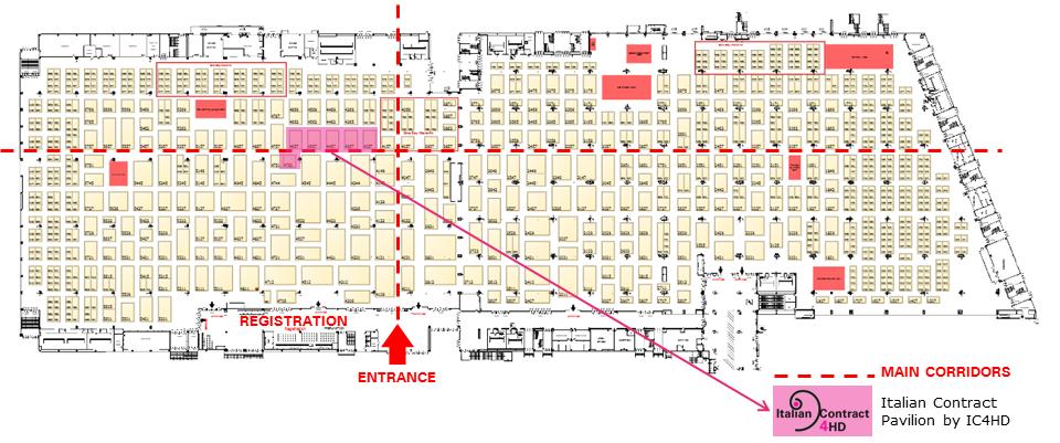hospitality design floorplan 2021